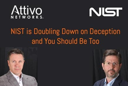 The relationship between the NIST framework and the Attivo Networks solution